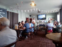 Lunch at Acle Bringe Inn.