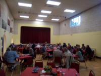 At Holton Village Hall for the Guild Social.