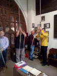 Ringing at Essendon on the 2019 SE District Outing.