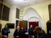 In the ringing chamber at Walsall.
