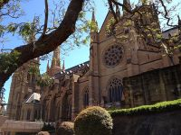 Sydney, St Mary's Cathedral.