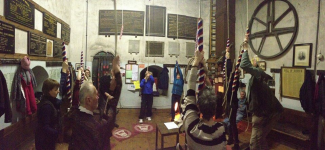 Ringing at the North-East District Ten-Bell Practice at Beccles this evening.