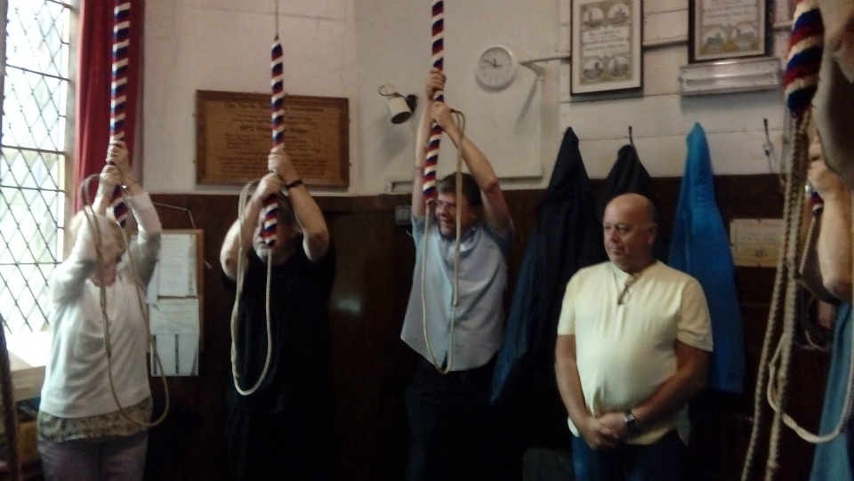 Ringing at Darley Dale.