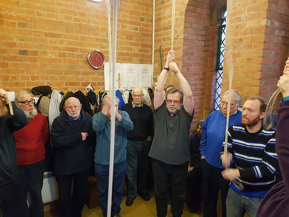 Ringing at South-East District Practice at Felixstowe.