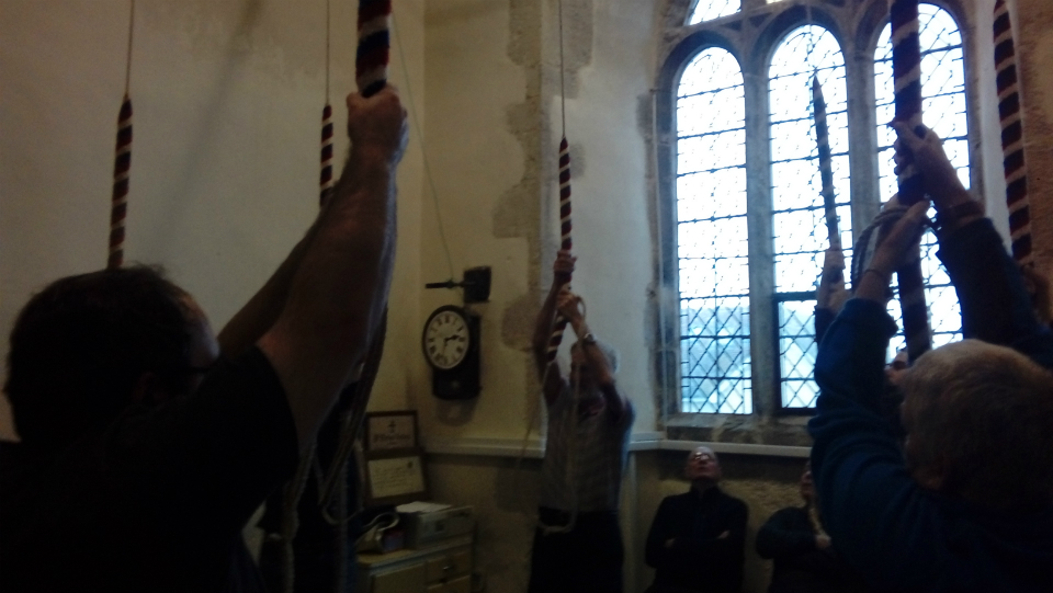 Ringing at Fobbing.