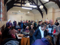 Gathered in the Parish Rooms at Saffron Walden.