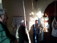 Ringing at Hacheston for the South-East District Meeting.