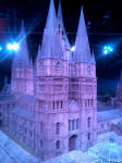 Model of Hogwarts School - how many bells could you fit in there?
