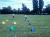 Mason in action at his school sports day!