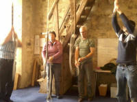 Ringing at Orford for the South-East District Quarterly Meeting.