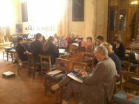 The South-East District Quarterly Meeting in Orford church.