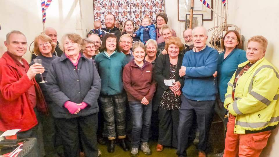 Pettistree Ringers 14th December 2016.