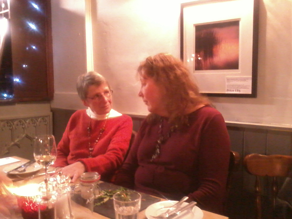 The Pettistree Ringers' Dinner at The Greyhound in Pettistree.