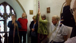 Ringing at Mendham on the Pettistree Outing.