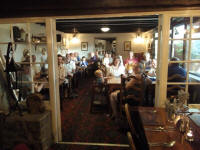 Gathered at The Tom Cobley Tavern in Spreyton for the Rambling Ringers Meal.