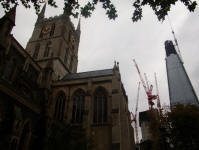 Southwark Cathedral.