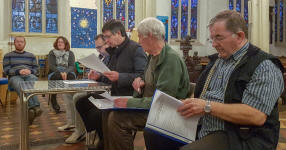 St Mary-le-Tower AGM.