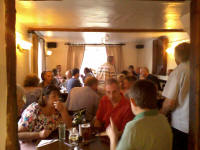 Quarter-pealers and hangers on gathered at The King's Head at Stutton for the SE District QP Evening.