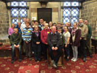 Young Ringers at The Norman Tower for their Twelve-Bell Workshop.