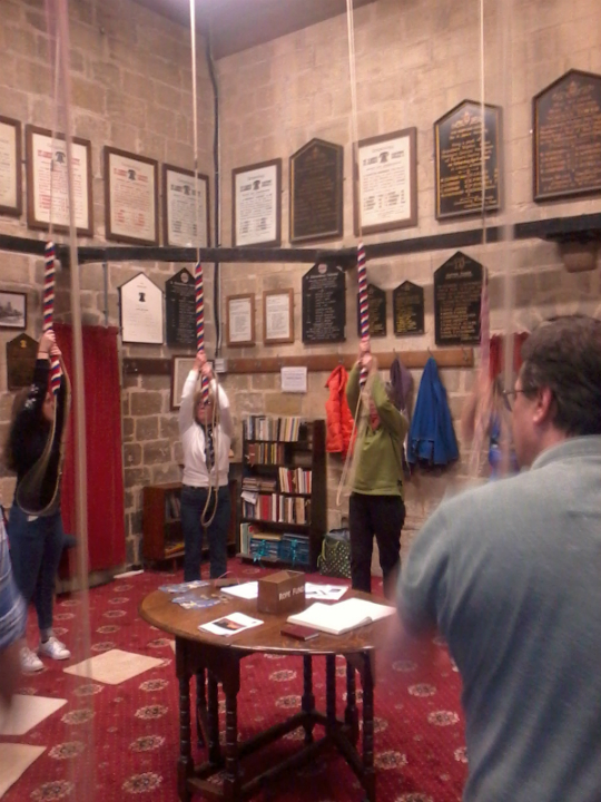 Ringing at The Norman Tower.