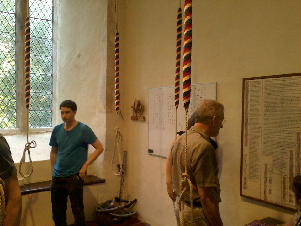 In Tunstall ringing chamber.