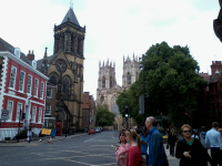 York Minster, with St Wilfrid's in the foreground, home to an 18cwt ten.