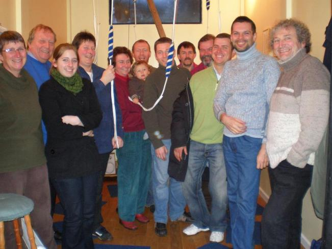 Picture of Bologna Ringers and members of The Suffolk Guild at The Folly, Claydon, 21st March 2008