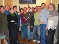 Picture of Bologna Ringers with members of The Suffolk Guild
