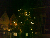 Christmas Tree lights on The Market Hill restored!