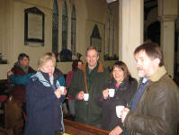 Tea & biscuits in St Margaret's