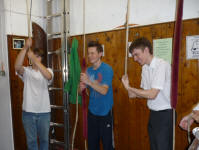 Philip, Andrew & Craig Ringing Plain Bob Major