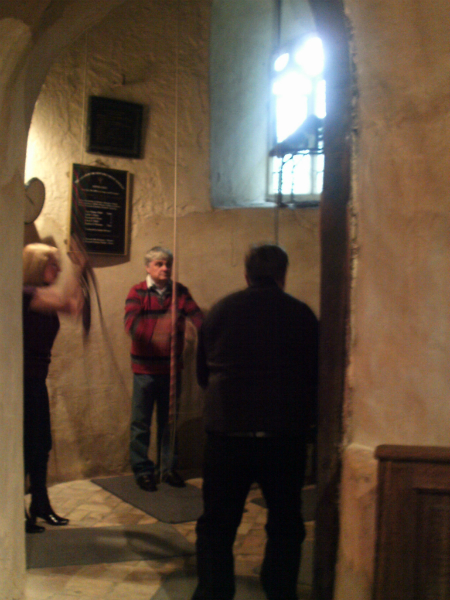 Ringing at Barsham.