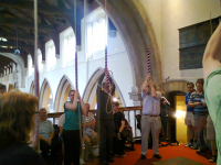 Ringing at Hitchin.