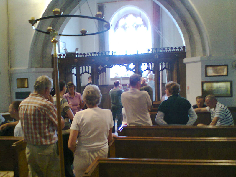 Ringing at St Ippolyts.