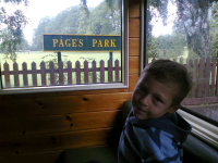 Mason on the Leighton Buzzard Narrow Gauge Railway.