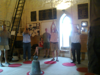 Ringing at Leighton Buzzard.