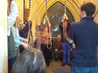 Ringing at Ufford at the SE District ADM.