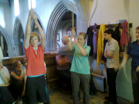 Ringing at Sproughton.
