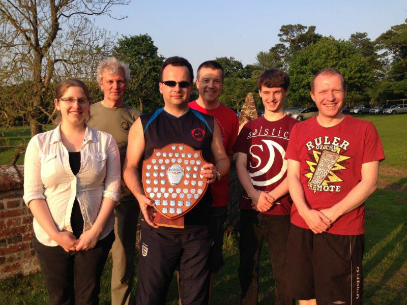 Winning SMLT team with The Mitson Shield.