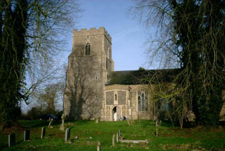 Picture of St Andrew, Wickham Skeith