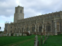 Picture of Holy Trinity, Blythburgh.