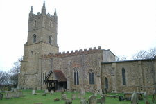 Picture of All Saints, Chevington.