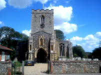 Picture of St Mary Magdalene, Debenham.
