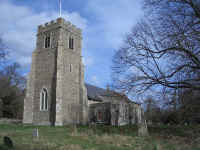 Picture of St Andrew, Marlesford.