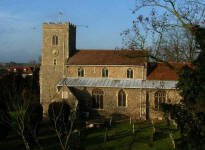 Picture of All Saints, Sproughton.